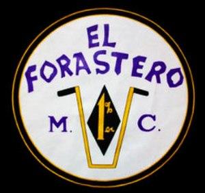 El Forastero Motorcycle Club - Image: El Forastero Motorcycle Club logo
