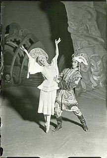 Else Højgaard Danish film actress and ballerina