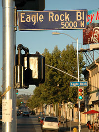 Intersection of Eagle Rock Bl and Colorado Blvd.