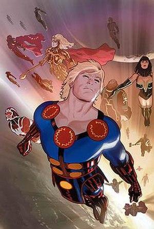 Eternals (comics) - Image: Eternals v 4