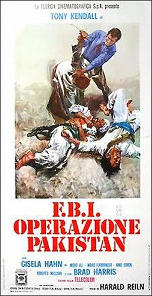 Tiger Gang - Italian film poster