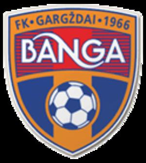 FK Banga Gargždai - Image: FK Banga Gargzdai