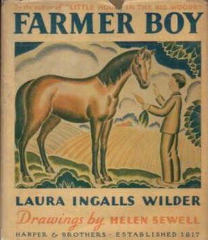 Farmer Boy - Front dust jacket with Sewell's illustration