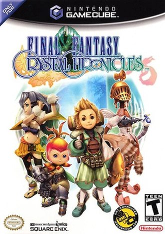 Final Fantasy Crystal Chronicles - Image: Final Fantasy Crystal Chronicles (box art)