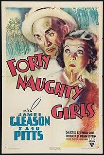 <i>Forty Naughty Girls</i> 1937 film by Edward F. Cline