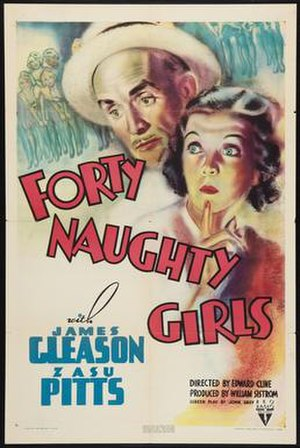 Forty Naughty Girls - Theatrical release poster