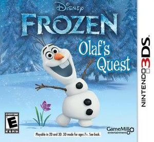 Frozen: Olaf's Quest - Image: Frozenolafquest