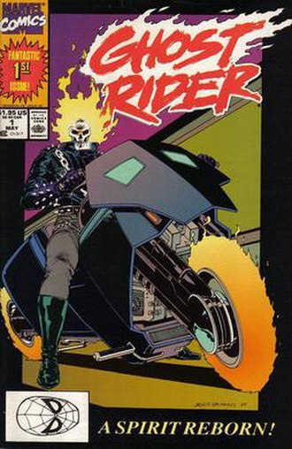 Ghost Rider (Danny Ketch) - Image: Ghost Rider vol 3 issue 1
