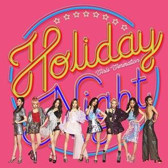Holiday Night - Image: Girls Generation Holiday Night album cover