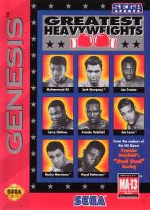Greatest Heavyweights - North American cover art