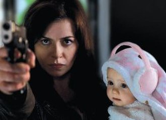 "Gwen Cooper - A promotional image of Gwen defending herself and her daughter in ""The New World"". The production team chose to feature this scene heavily in advertising the fourth series."