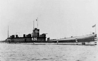 HMS K26 - Image: HMS K26