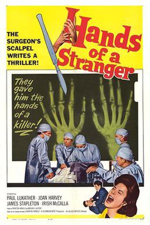 Hands of a Stranger - theatrical release poster