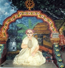 Haridasa Thakur, depicted in a temple exhibition image