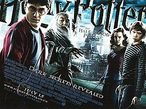 Harry Potter and the Half-Blood Prince (film) - Theatrical release poster