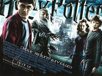 Harry Potter and the Half-Blood Prince (film) - UK theatrical release poster