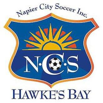 Hawke's Bay United FC - Former logo of Napier City Soccer