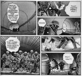 Mamoru Oshii - The English version of Kerberos Panzer Cop