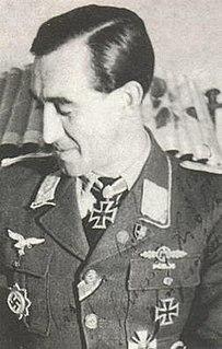 Helmut Lipfert German World War II fighter pilot