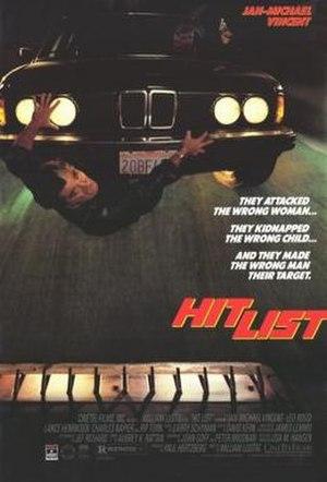 Hit List (1989 film) - Image: Hit List Film Poster