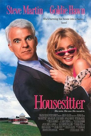 Housesitter - Promotional one-sheet poster