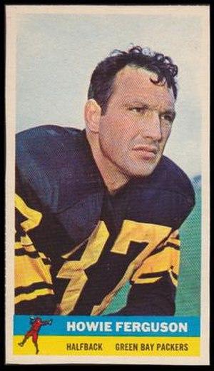 Howie Ferguson - 1959 Howie Ferguson football card