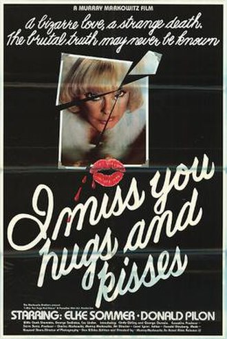 I Miss You, Hugs and Kisses - Original theatrical release poster