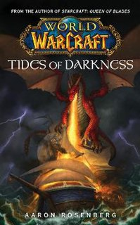 <i>World of Warcraft: Tides of Darkness</i> book based on the video game