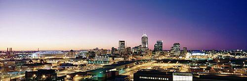 Indianapolis looking north