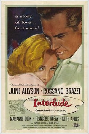Interlude (1957 film) - Film poster by Reynold Brown