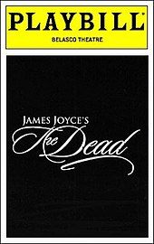 James Joyce's The Dead Bway playbill.jpg