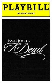 <i>James Joyces The Dead</i> musical