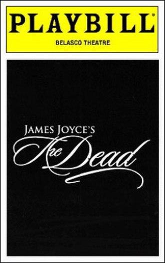 James Joyce's The Dead - Original Broadway Playbill