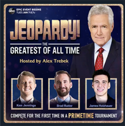 Jeopardy! Goat >> Jeopardy The Greatest Of All Time Wikipedia
