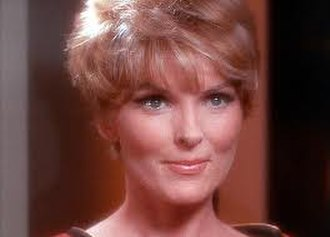"Joan Marshall - As Lt. Areel Shaw in Star Trek (""Court Martial"", 1967)"