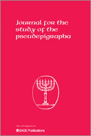 Journal for the Study of the Pseudepigrapha - Image: Journal for the Study of the Pseudepigrapha front cover image