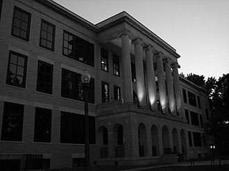 Kent State University - Front of Kent Hall, built in 1915, one of the oldest buildings on campus.