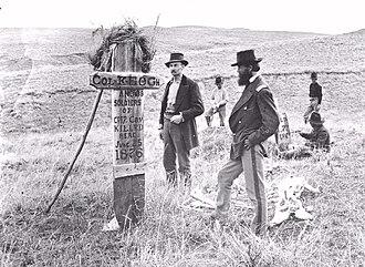 Myles Keogh - Keogh Battlefield Marker 1879