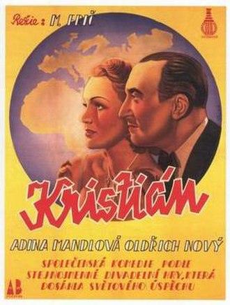 Christian (1939 film) - Czech poster