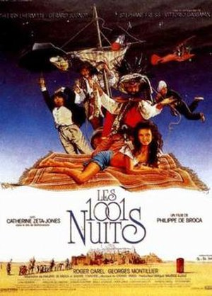 1001 Nights (film) - French film poster for Les 1001 Nuits