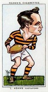 Les Adams (rugby league) English rugby league footballer