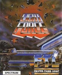 <i>Light Force</i> 1986 shooter game