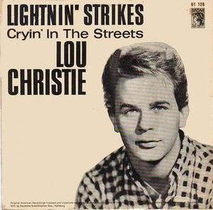 Lightnin' Strikes - Image: Lightnin' Strikes Lou Christie