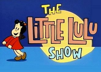 The Little Lulu Show - Title screen