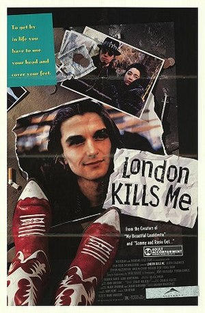 London Kills Me - Theatrical release poster