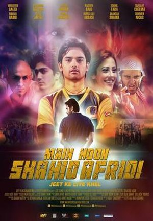 Main Hoon Shahid Afridi - Theatrical release poster