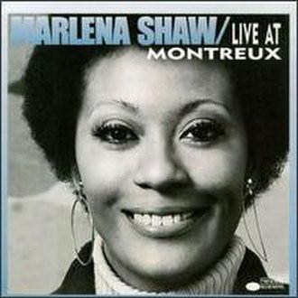Marlena Shaw Live at Montreux - Image: Marlena Shaw Live at Montreux