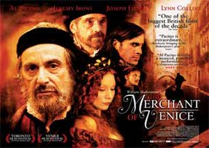 The Merchant of Venice (2004 film) - Theatrical release poster