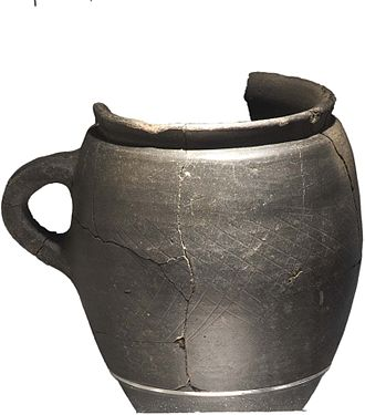 Roman Middlewich - Image: Middlewich Roman artefacts Tankard