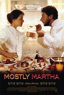 <i>Mostly Martha</i> (film) 2001 film by Sandra Nettelbeck